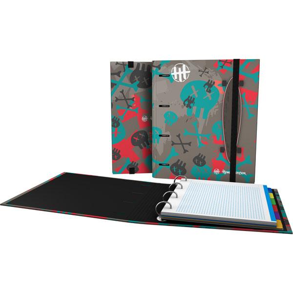 Forrado. CarpeBook DIN-A4 Hans Tiessen / Skate - Ντοσιέ Α4 με 4 κρίκους