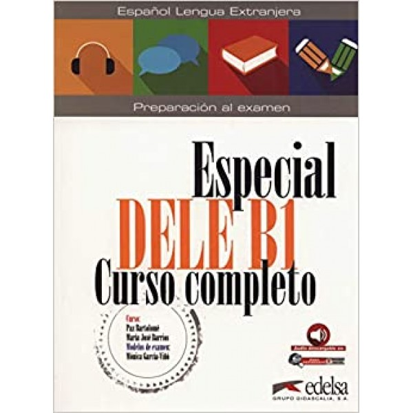 Especial DELE B1 Curso completo + audio descargable