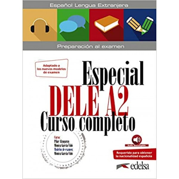 Especial DELE A2 Curso completo + audio descargable