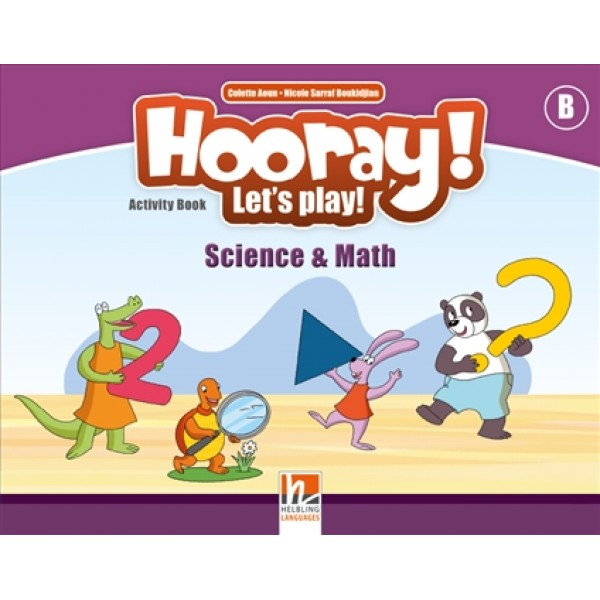 Hooray! Let's play! Science & Math Activity Books - Level B